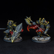 Picture of print of Dark Knight - Chaos Warrior