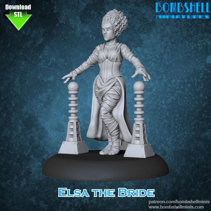 Elsa the Bride