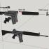 AR18 - scale 1/4 image