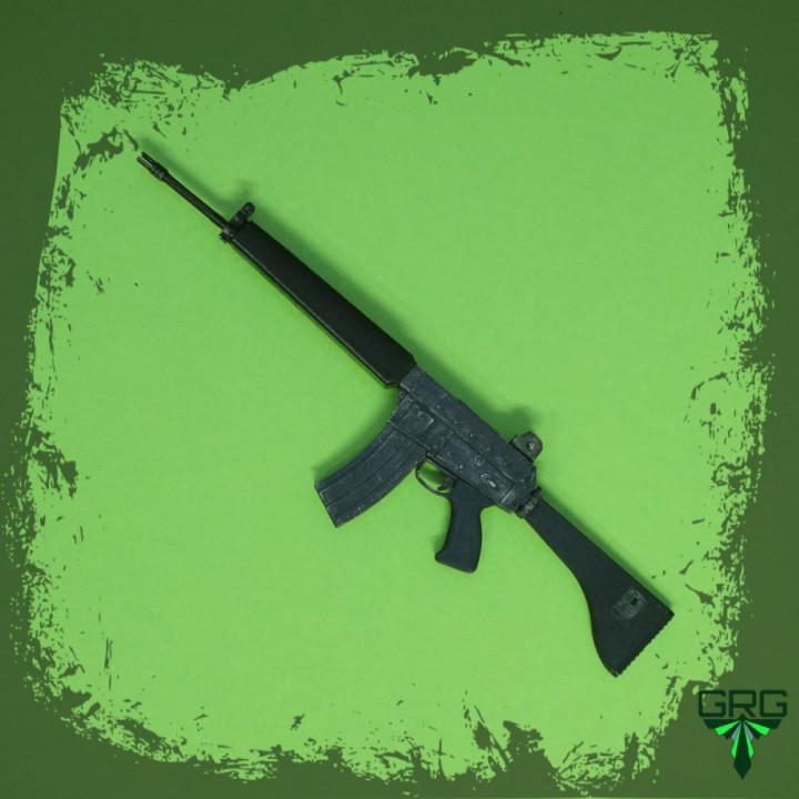 AR18 - scale 1/4