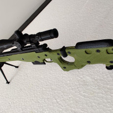 Picture of print of AWM L115A3 - scale 1/4