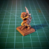 Goblin with sabre 28mm (No supports needed) image