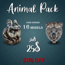 Animal Pack - 16 models 50% OFF!