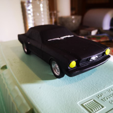 Picture of print of 1966 Ford Mustang Coupe