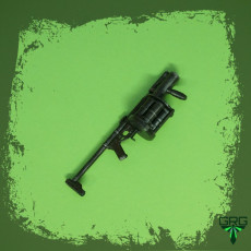 RG-6 grenade launcher - scale 1/4
