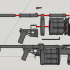 RG-6 grenade launcher - scale 1/4 image