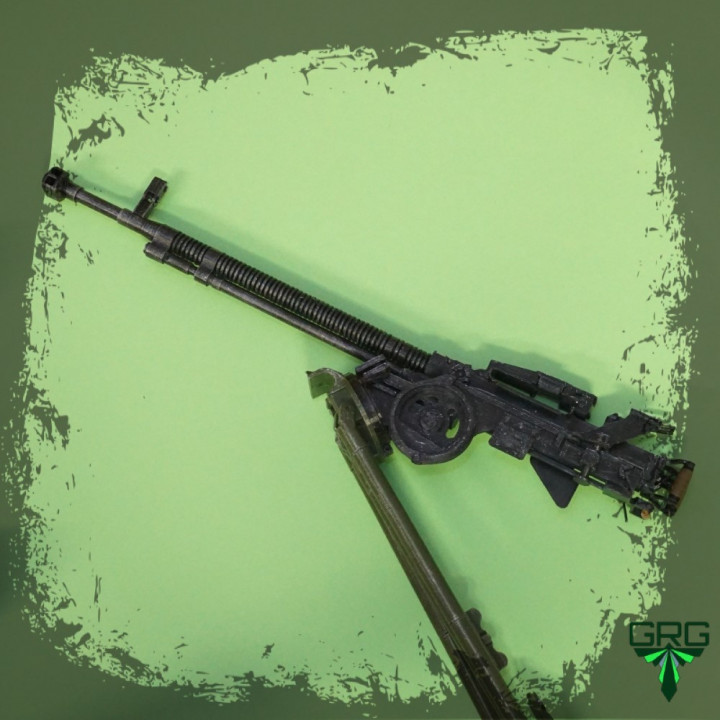 DShK-1938/46 Heavy Machine Gun - scale 1/4