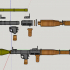 RPG-7 - scale 1/4 image