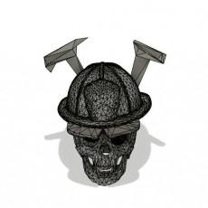 Skull fireman