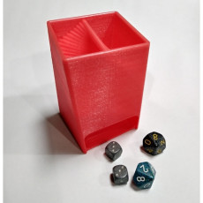 Wide Mouth Dice Towers