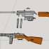PPSH-41 - scale 1/4 image