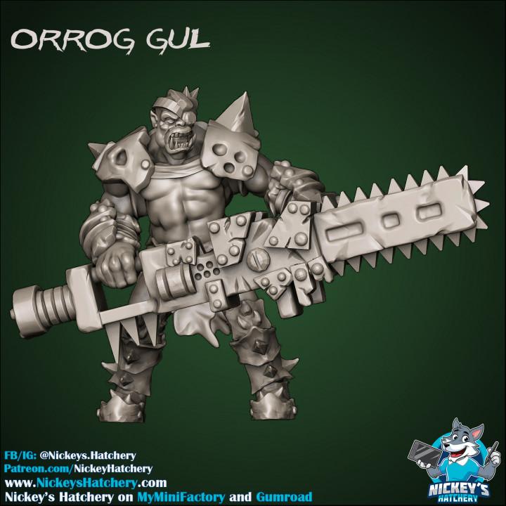 Orrog Gul - Orc Elite Unit (Star Player)'s Cover