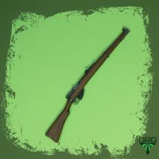 British Lee Enfield No.1 MkIII - scale 1/4