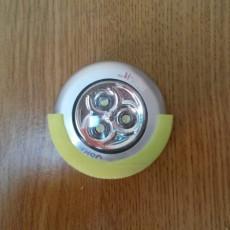 Wardrobe light holder