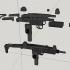 Uzi submachine gun - scale 1/4 image