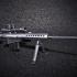 Barrett M82A1 - scale 1/4 image