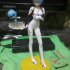 Ayanami Figure Stand with a Foot Hole image