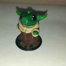 Picture of print of Baby Half-Dragon