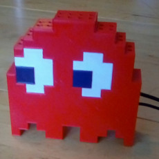 8-bit style Pac-Man ghost case for Raspberry Pi A/B