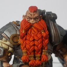 Picture of print of Metal Beards Warriors