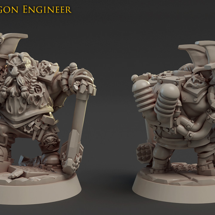 Gargy Dragon Engineer