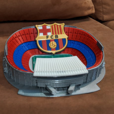 Picture of print of Camp Nou - Barcelona