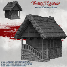 Medieval Scenery - House 1
