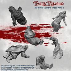 Medieval Scenery - Dead NPCs