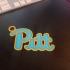 Pitt Keychain image