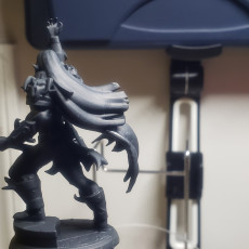 Picture of print of Alistair Shadowgaunt - Dark god of Rock