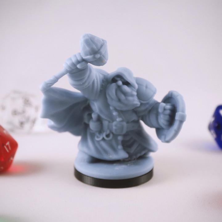 Dwarf Cleric Miniature