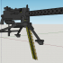Browning cal.30 M1919 - scale 1/4 image