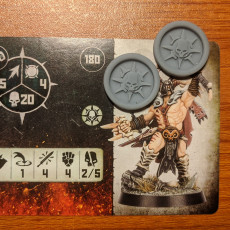 Warcry Destiny Level Tokens