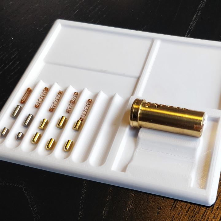 Pinning Tray - 7 pin