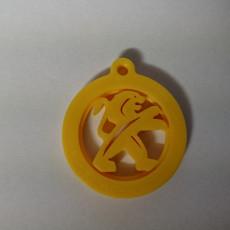 Peugeot key ring