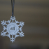 GE Library Snowflake Ornament image