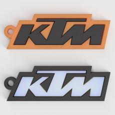 KTM Logo Keychain