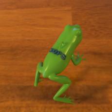 3DPS Frog Pendant