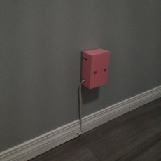 Outlet cover for wall warts