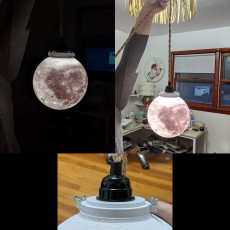 Moon Lamp Globe