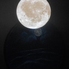 Picture of print of Moon Lamp Globe