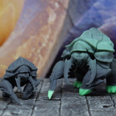 Picture of print of Umber Chonk - Tabletop Miniature