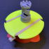Motorized Turntable for UV curing image