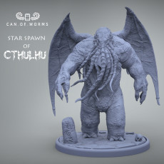 Star Spawn of Cthulhu Big Scale & Miniature