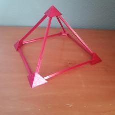 Piramide de aristas