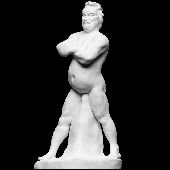 Portrait of Balzac