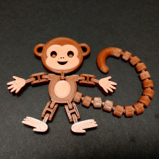Flexi Articulated Monkey