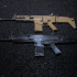 FN SCAR 17S - scale 1/4 image
