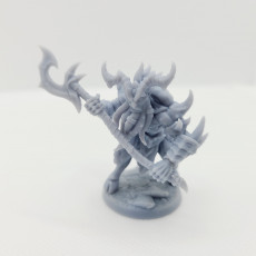 Picture of print of Abyss Demon Guardian - A