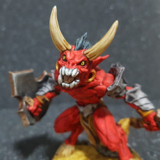 Picture of print of Abyss Demon Gruntiling - A